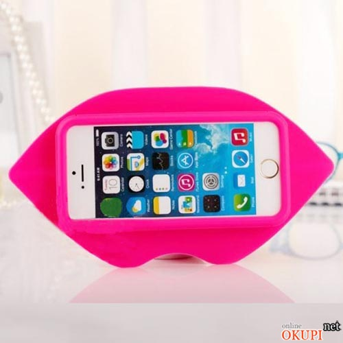 Чехол 3d губы Iphone 6/6s