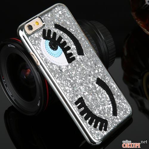 Чехол глаза стразы Iphone 6/6s