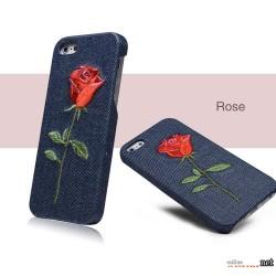 Чехол роза Denim Iphone 5/5s