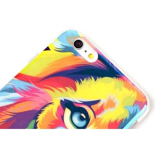 Чехол красочный лев на Iphone 6/6s