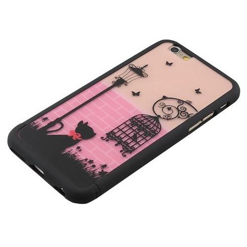 Чехол романтический клетка на Iphone 6/6s