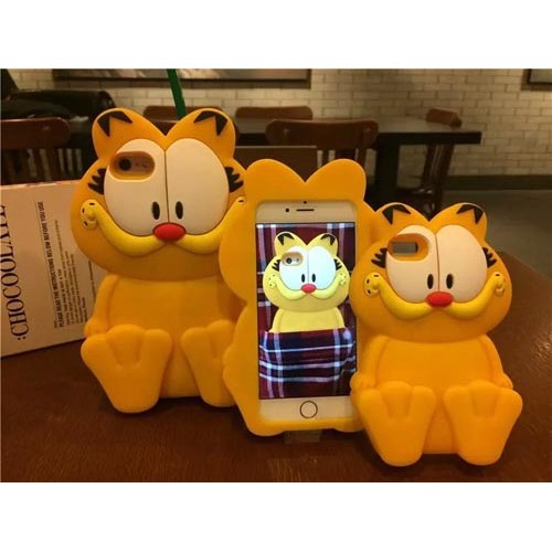 Чехол 3D Garfield на Iphone 6 plus