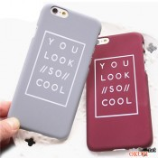 Чехол You Look So Cool для Айфон 6/6s
