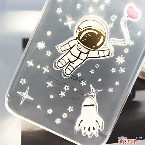 Чехол космонавт на Iphone 6 plus