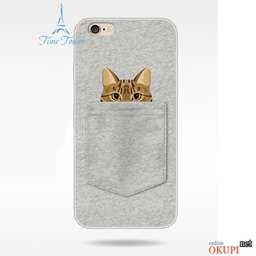 Чехол кот и собака на Iphone 6 plus