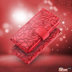 Чехол Красная Книжка Роза на Iphone 6/6s PLUS