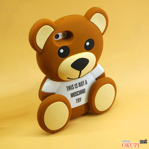 Чехол Teddy Bear Moschino на Iphone 6/6s PLUS