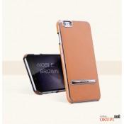 Чехол кожаный с подставкой на Iphone 6 plus