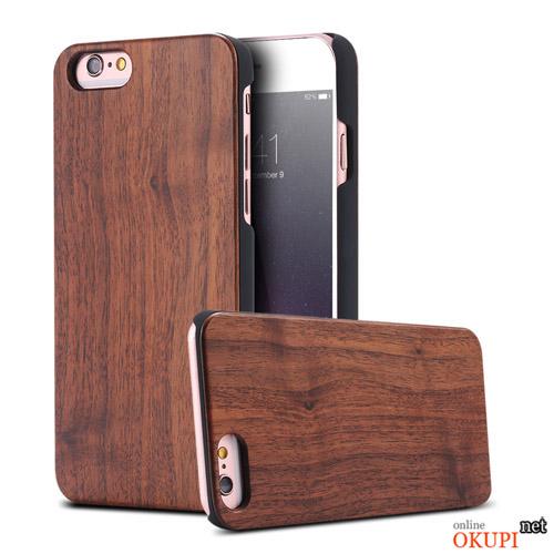 Чехол Деревянный Накладка FLOVEME на Iphone 6/6s