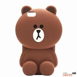 Чехол коричневый медвежонок  на Iphone 7/8 PLUS