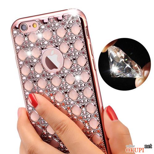 Чехол алмазы на Iphone 7/8 PLUS