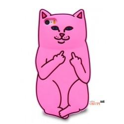 Чехол кот Fuck you на Iphone 7/8 PLUS
