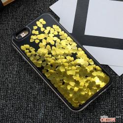 Чехол переливающиеся сердца на Iphone 6/6s