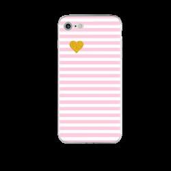 Чехол силиконовый розовый милый на Iphone 6/6s