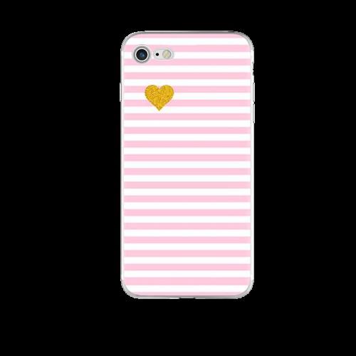 Чехол силиконовый розовый милый милый на Iphone 6/6s plus