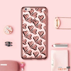 Чехол маленькие сердечки на Iphone 6/6s