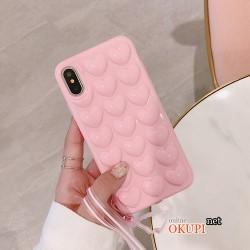 Чехол 3D Сердце на Iphone X 10