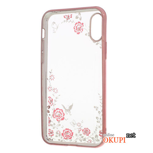 Чехол Розы на Iphone X 10