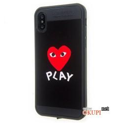 Чехол Сердце на Iphone X 10