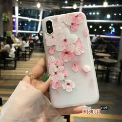 Чехол Цветы на Iphone X 10