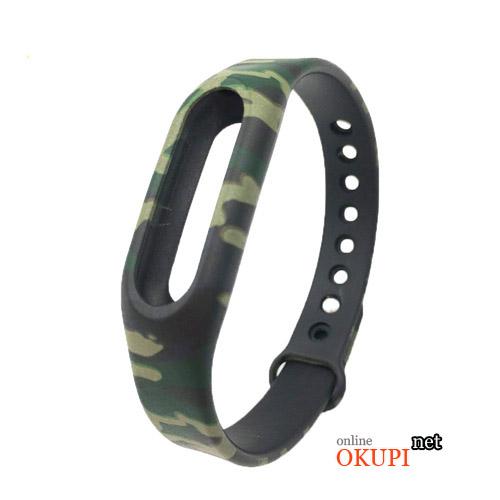 Военный браслет камуфляж для xiaomi mi band