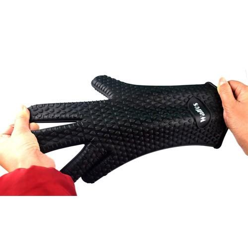 Пищевые термостойкие силиконовые перчатки для кухни и гриля