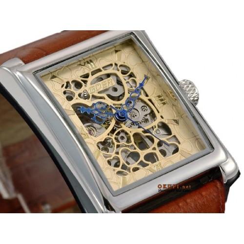 Мужские часы Goer (скелетоны)