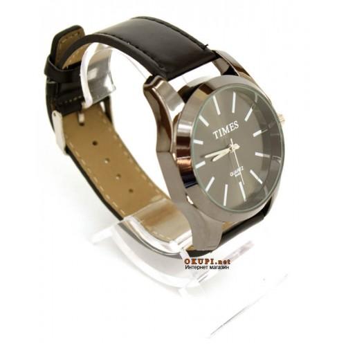 Мужские классические часы Times Grey