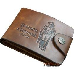 Мужской кожаный кошелек Bailini