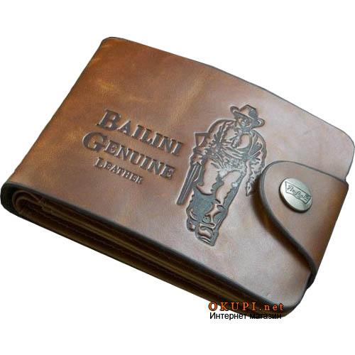 ec2ac3806868 Купить недорого мужской кожаный кошелек Bailini