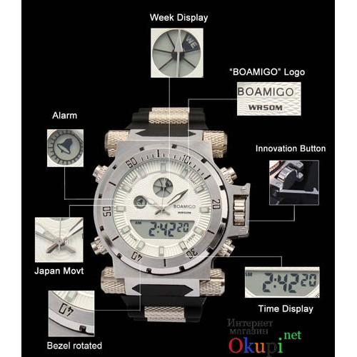 Мужские оригинальные часы Boamigo 101