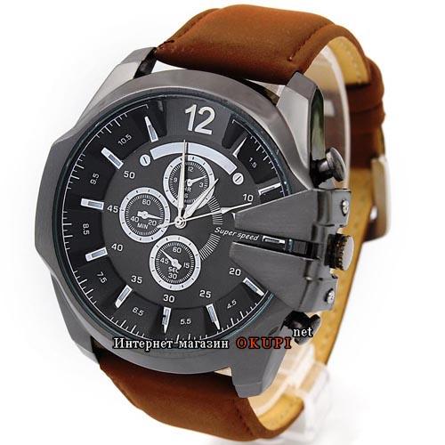Мужские часы V6 super speed brown