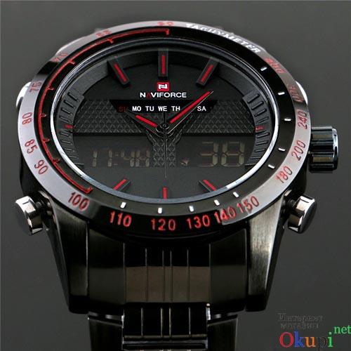 Мужские металлические часы Naviforce 9024