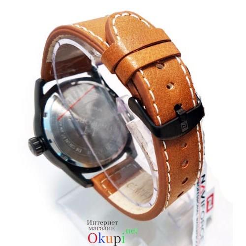 Мужские стильные часы Naviforce 9044