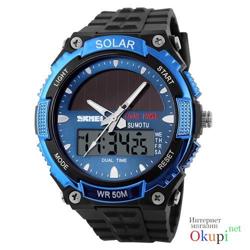 Купить часы мужские наручные на солнечной батарее