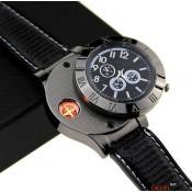 Мужские часы зажигалка с USB прикуривателем