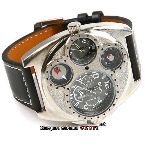 Мужские кварцевые часы Oulm black