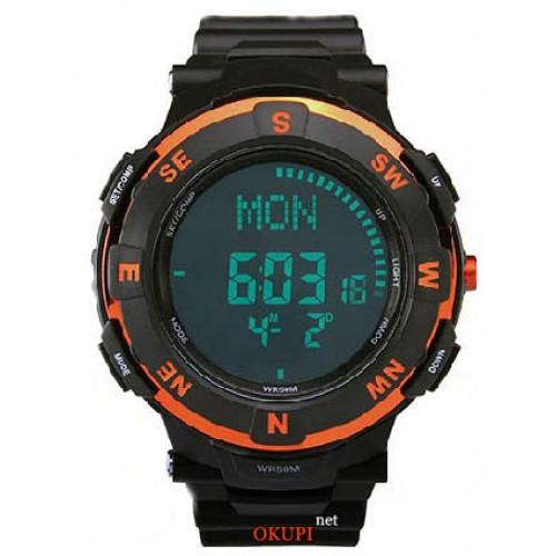 Мужские спортивные часы с электронным компасом Popart POP-831