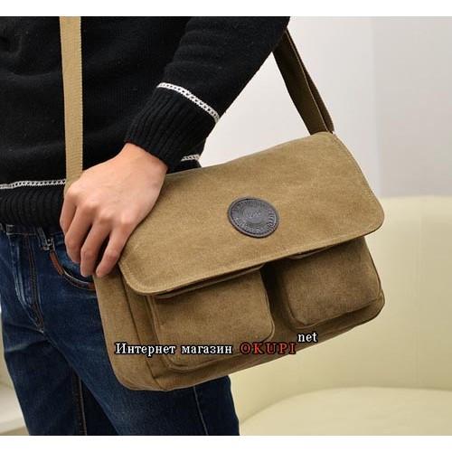 Мужская сумка нейлоновая походная