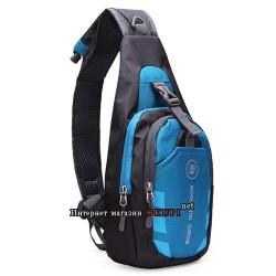 Мужская сумка нейлоновая спортивная