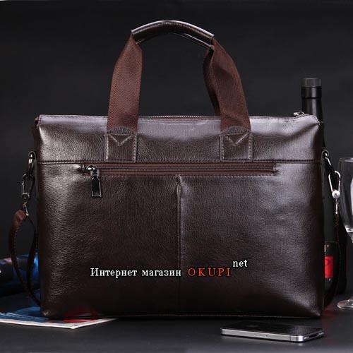 Мужская сумка удлиненная Polo