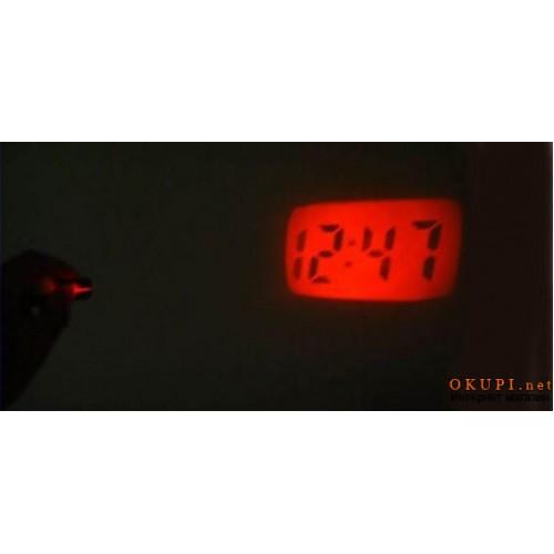 Электронные часы брелок с проектором