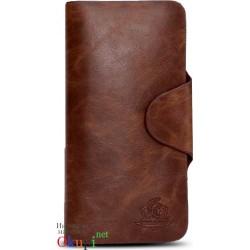 Мужской кошелек из натуральной кожи Gaius Kessar