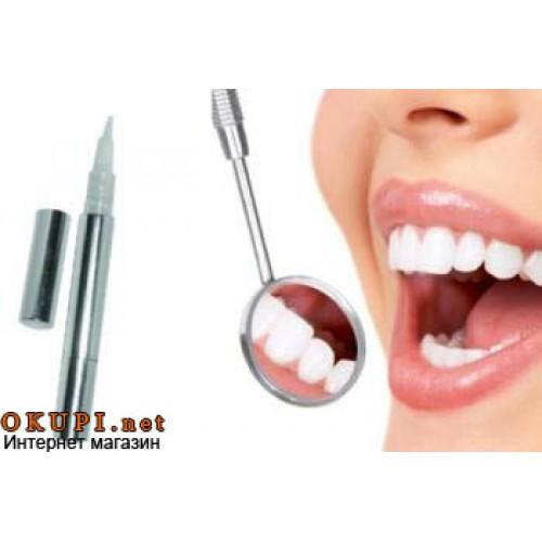 Кисточка для отбеливания зубов дома