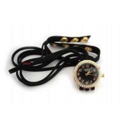 """Женские часы браслет """"Swatch black"""""""