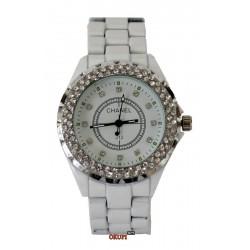 Женские белые часы Chanel