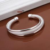 Женский браслет серебро