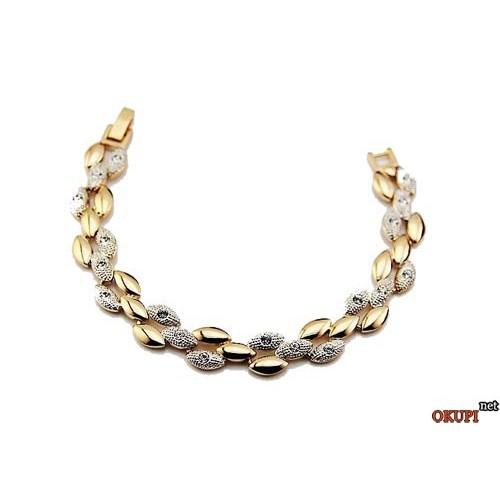 Женский браслет кристалл