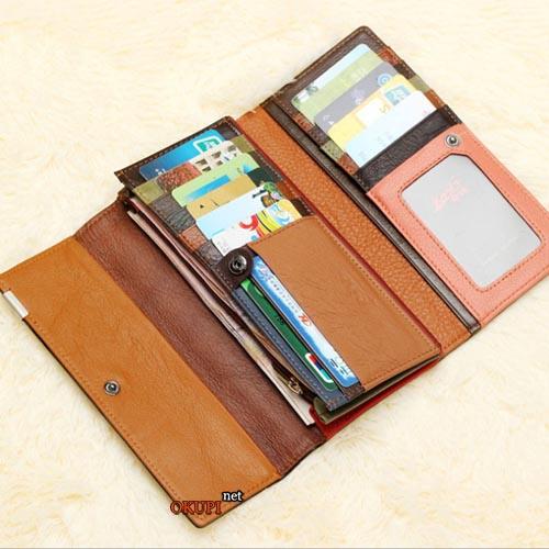 Женский кошелек классический разноцветный