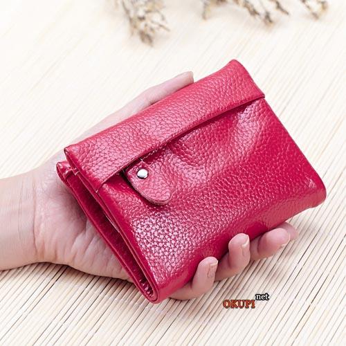 Женский кошелек удобный розовый